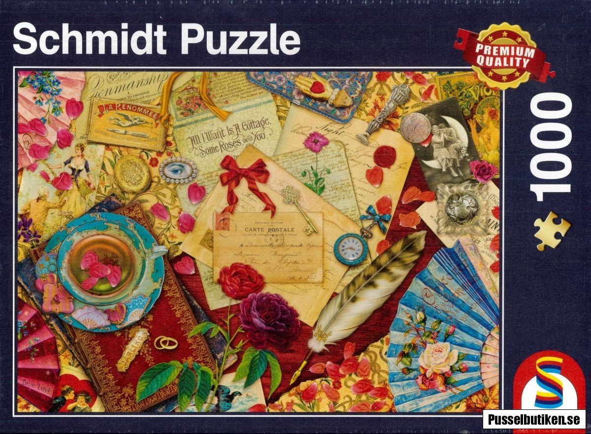 Schmidt Vintage Love Letters (1000) puzzle Schmidt