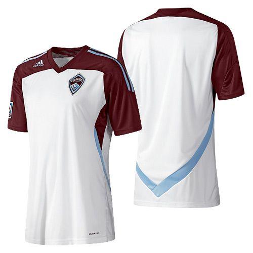 adidas Colorado Rapids 2012 Away Jersey  875bd5940