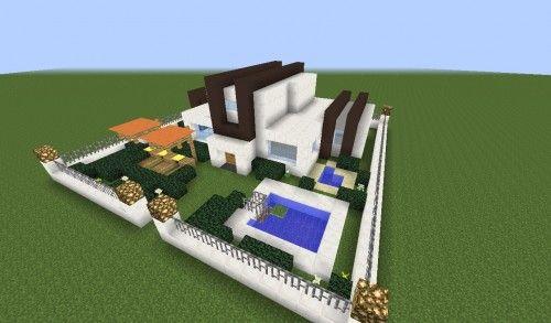 Modernes/abstraktes Gartenhaus