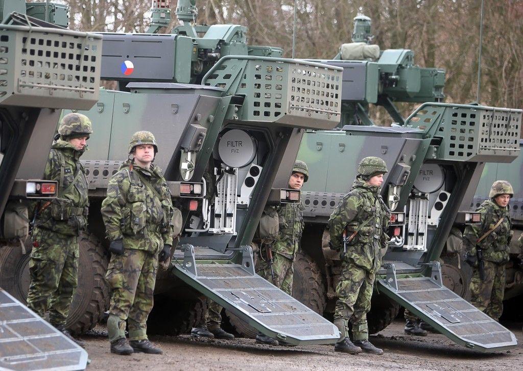 Czech Army Pandur's