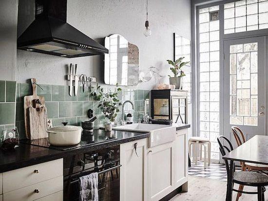 Mooie Eclectische Woonkeuken : Mooie romantische keuken keuken keuken