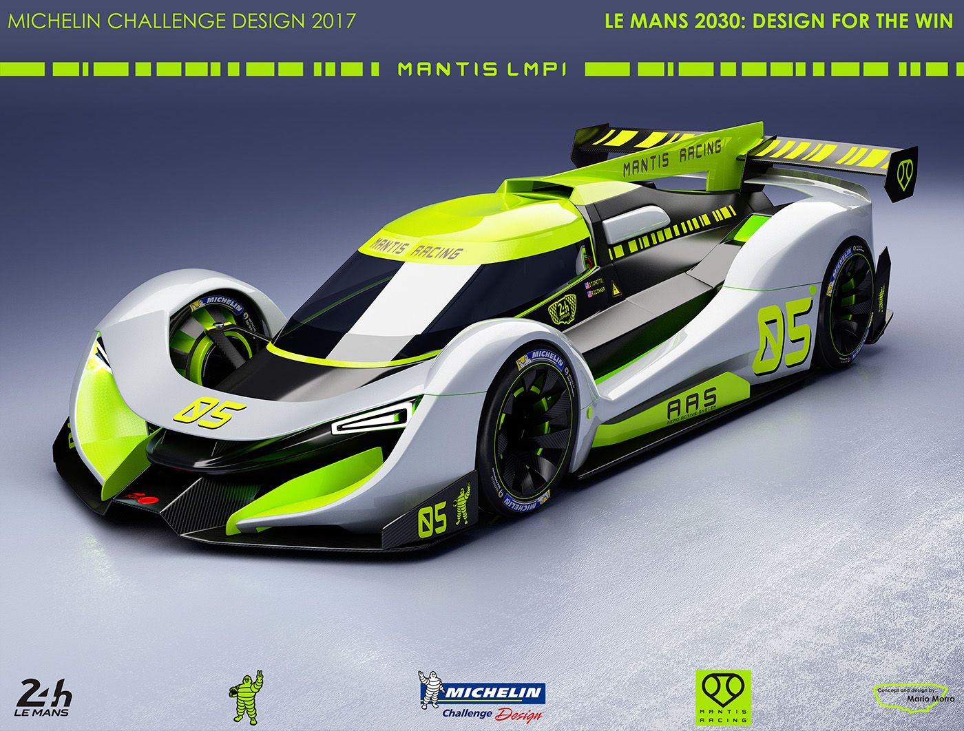 Mantis Michelin Challenge Design On Behance Concept