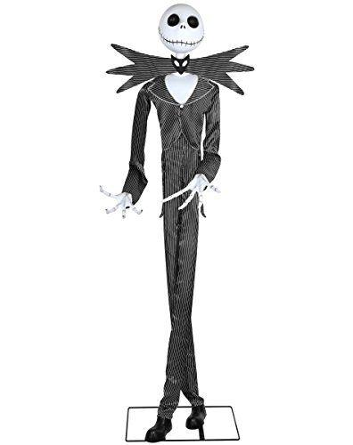Spirit Halloween 6 Ft Jack Skellington Animatronics Decorations