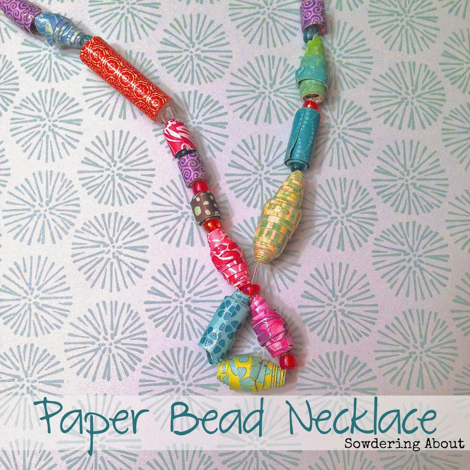 60 Creative Crafts for Small Children | Paper beads, Crafts at home ...