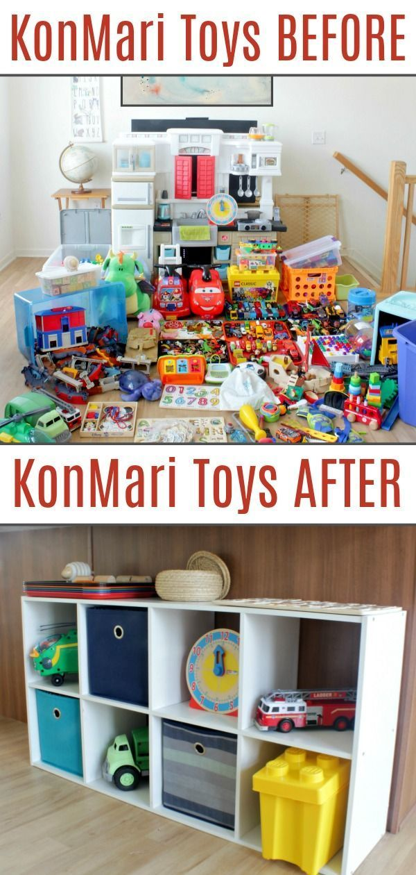 Declutter Toys (and Make Your Kids Smarter) with the KonMari Method images