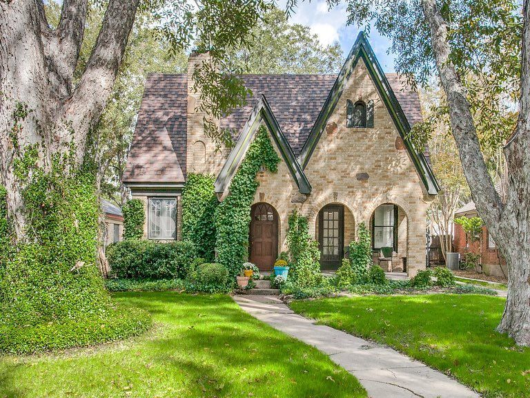Classic Tudor With A Cool Factor Nestled In East Dallas S