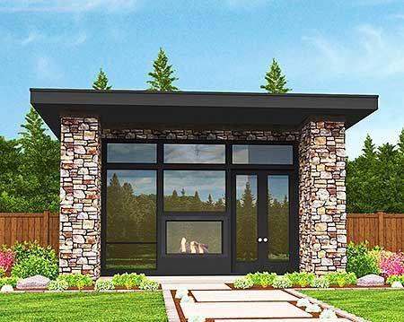 Plan 85105ms tiny modern house plan with lanai