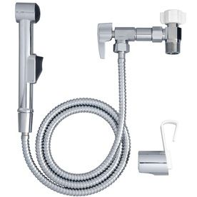 Aquaus Chrome ToiletMounted Handheld Bidet Toilet