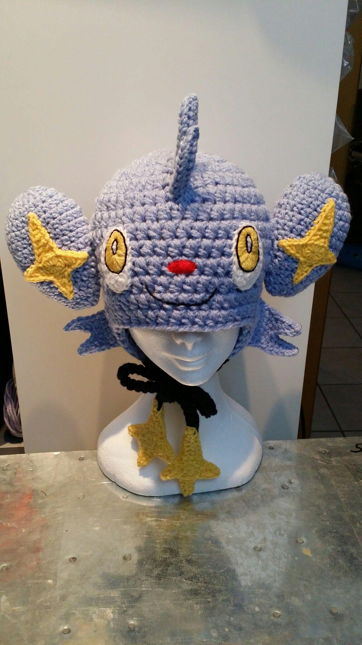 Crochet Shinx pokemon hat | Crochet | Pinterest | Gorros, Deberes y Ropa