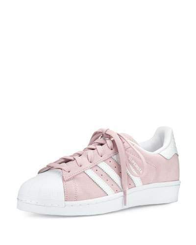 best service aacba 4d20f Adidas Superstar Original Fashion Sneaker, Clear Pink White