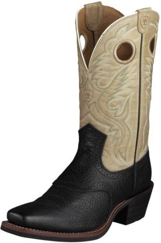 169f9ae09dd60 Amazon.com: Ariat Men's Heritage Roughstock Boot: Shoes   Boots ...