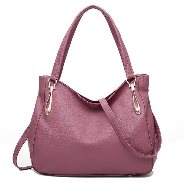 248f1b5241f1 Elegant PU Tote Bag Square Handbag Women Newest Crossbody Bag ...