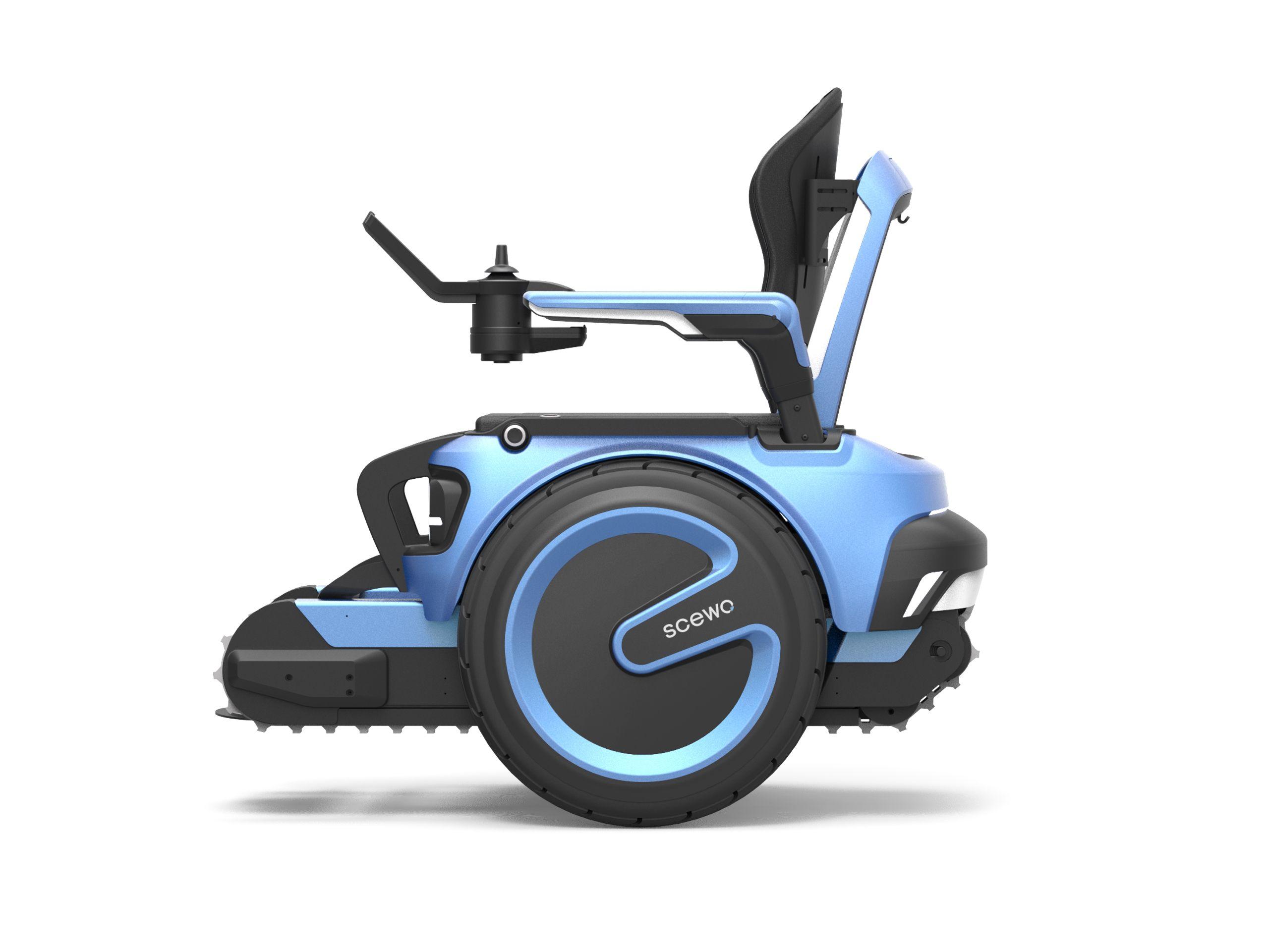 Scewo Stair Climbing Wheelchair Rollstuhl Liegerad Roller