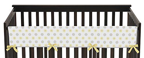 #kids The #Sweet Jojo Designs Rail Guard Crib Covers are the best solution to combine safety and style. Now you can protect your baby from wood splinters and pai...