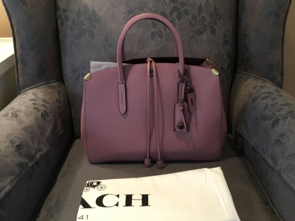 58731debc1a3 COACH BNWT 1941 GLOVETANNED LEATHER COOPER CARRYALL 22821 DUSTY ROSE ...