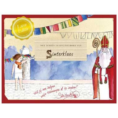 Het schets en knutselboek van Sinterklaas - Melcher de Wind  Een heerlijk knutselboek met tekeningen van alle leuke en spannende avonturen die Sinterklaas door het jaar heen meemaakt in Spanje en onderweg naar Nederland.  EUR 21.99  Meer informatie