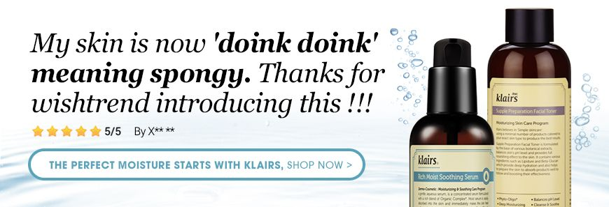 [KLAIRS] Free Shipping + Supple Preparation Facial Toner + Rich Moist Soothing Serum |   KLAIRS's toner balances the skin's PH level and boost  the effectiveness of your  entire skincare regime.