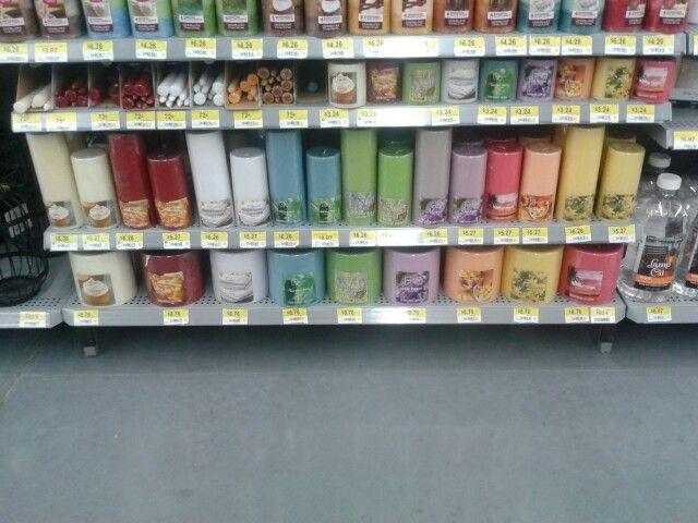 Different size pillar candles!!!!!!!