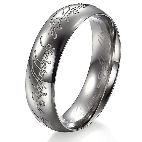 Stainless steel LotR ring.... Gonna buy this soon! :D