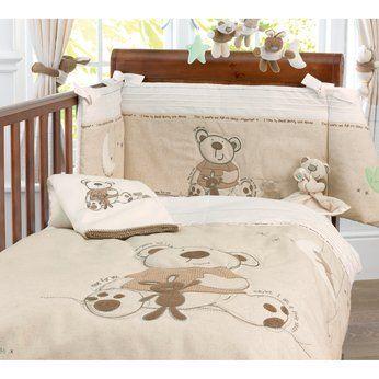 Babies R Us I Love My Bear Bedding Set Cot Sets Teddy Bear