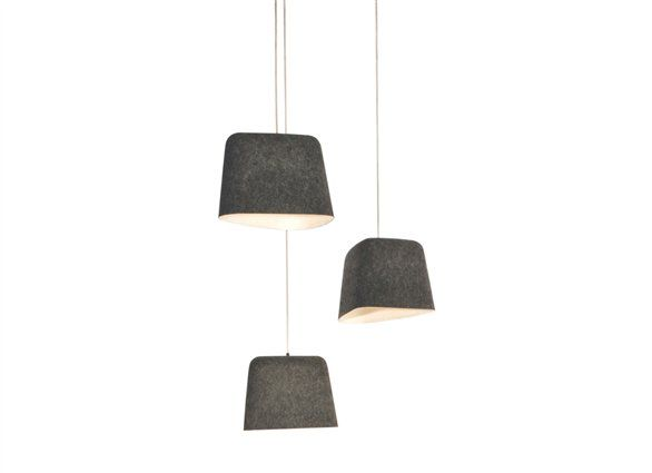Felt Shade Tom Dixon A Shade That Employs A Technique Known As Fabric Forming A Process Rarely Used In Lighting And F Modern Pendant Light Pendant Light Lamp