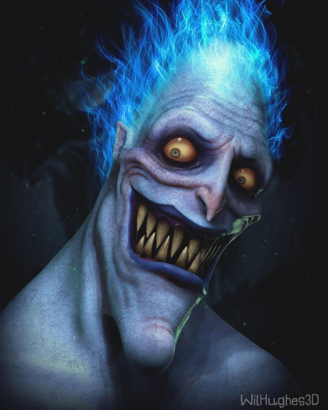 3d Versions Of Some Of Your Favorite Pop Culture Icons Disney Horror Dark Disney Realistic Cartoons