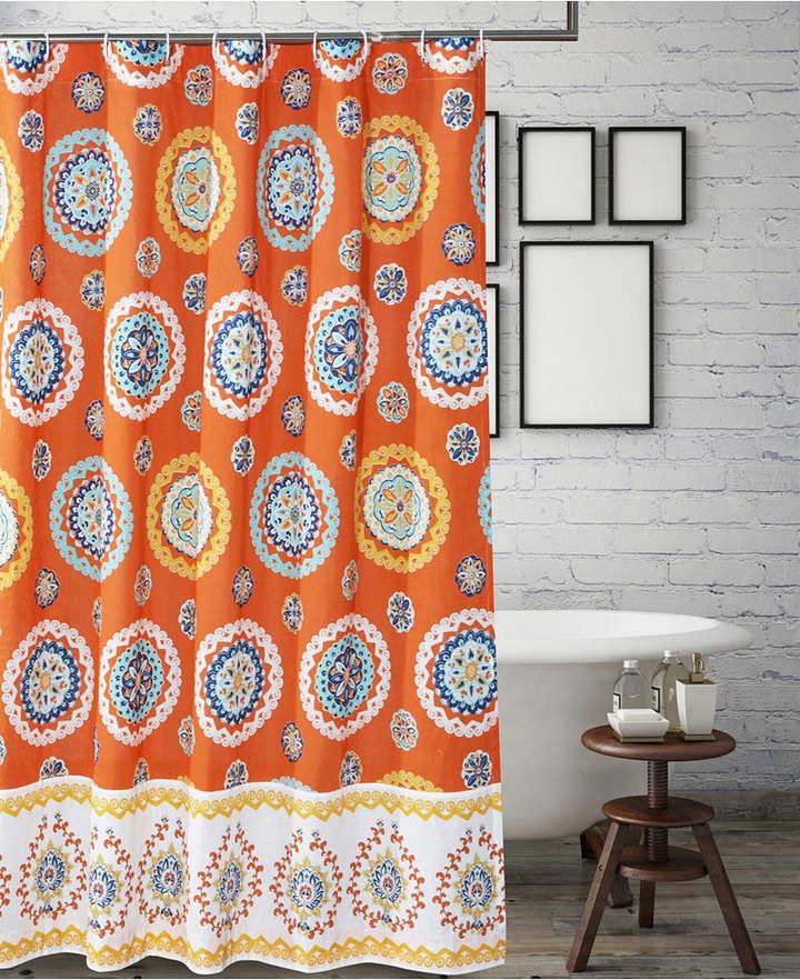 Greenland Home Fashions Rozario Bath Shower Curtain Bedding