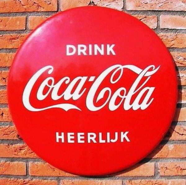 Coca Cola Emanel Sign in Dutch
