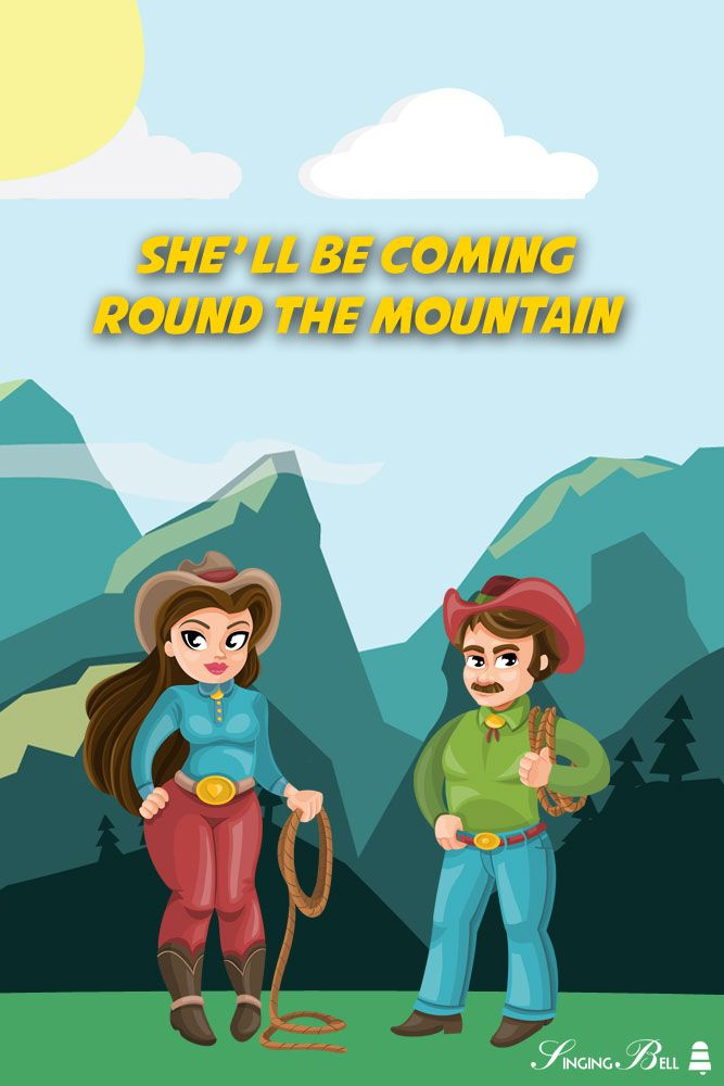 She Ll Be Coming Round The Mountain Music For Kids Kids Songs