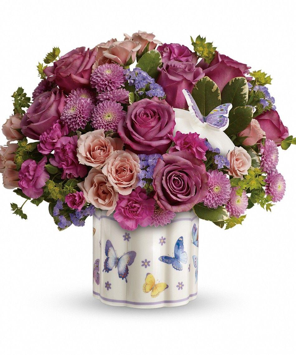 Lavender Roses Pink Spray Roses Pink Mini Carnations Lavender Button Mum Beautiful Flower Arrangements Very Beautiful Flowers Order Flowers Online