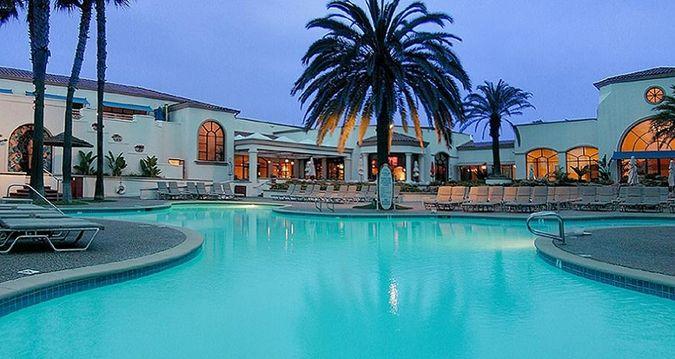 Hilton Waterfront Beach Resort Hotel Huntington Ca Outdoor Pool