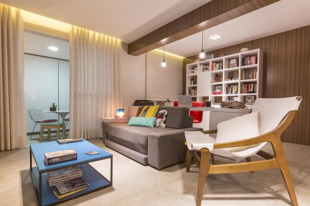 Hidden Es Maximize Small Apartment In Brazil Http Freshome