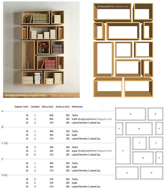 Diseños de muebles, Diseños de cocinas, Diseños closet, diseños de armarios, ...