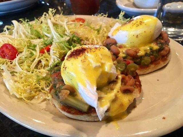 Best Vegetarian Eggs Benedict In Houston Restaurants Brunch Southern Cooking Museum District Restaurant