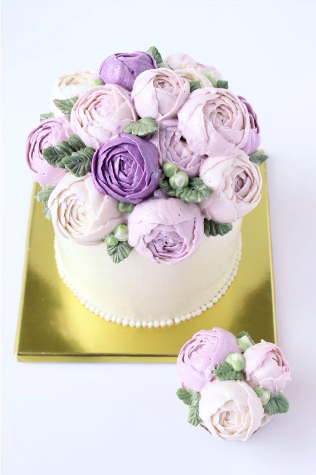 Sweet Art Cake Company Buttercream : Eat Cake Be Merry Buttercream flower cake Sweet ...