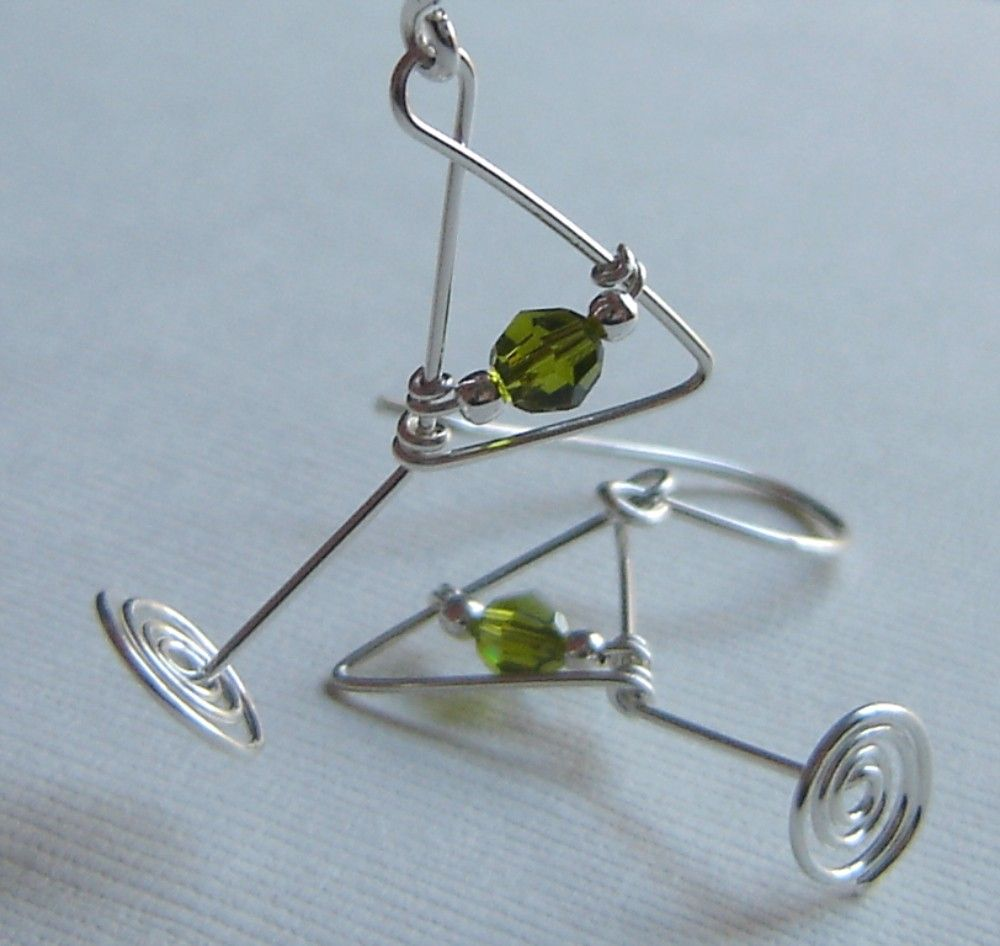 Martini Wire Earrings Patterns - WIRE Center •