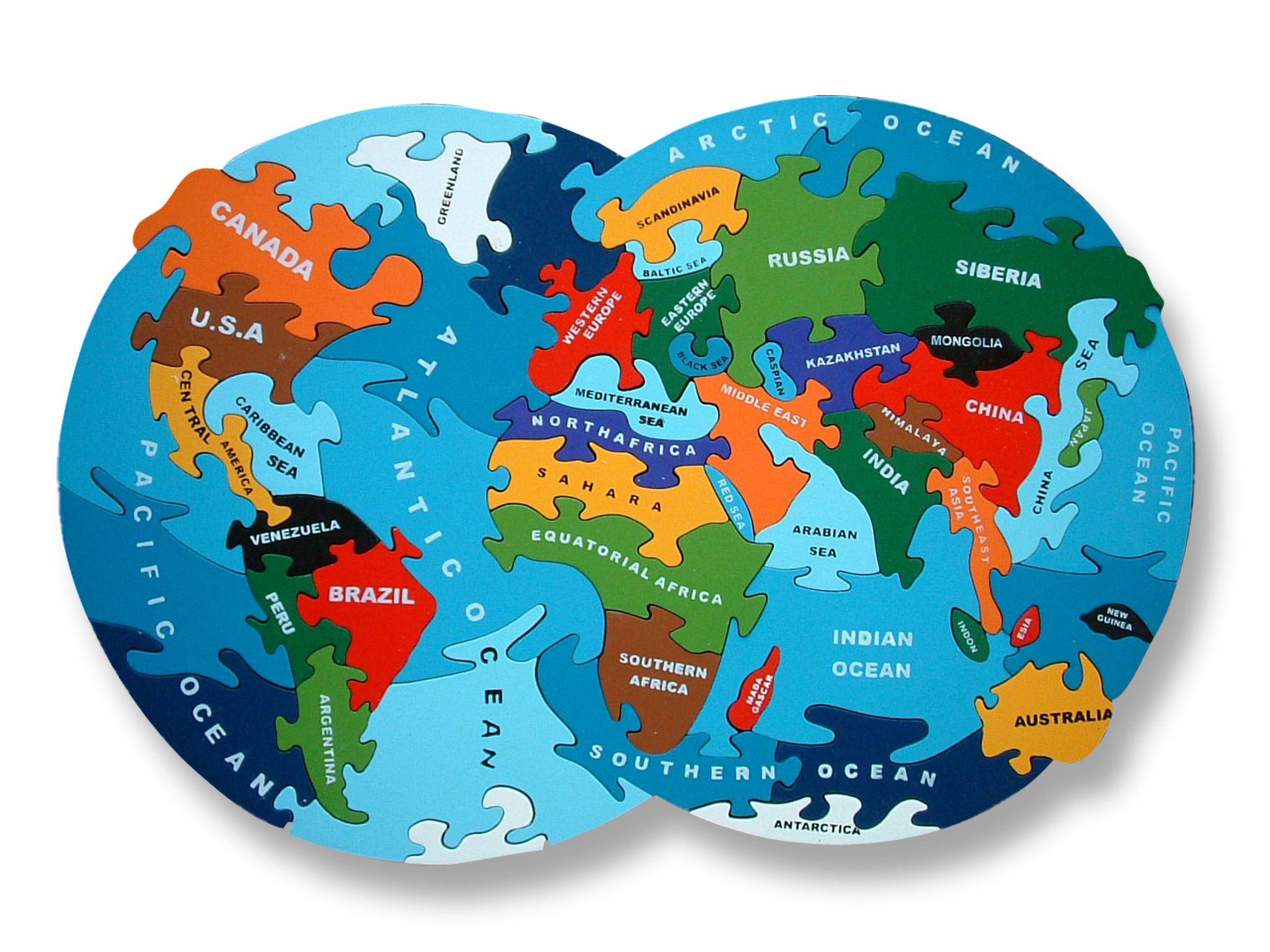 Map of the world jigsaw ethical educational and fun this explore world map puzzle wooden jigsaw and more gumiabroncs Image collections