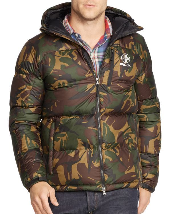 9a84a4a1a608a Polo Ralph Lauren Rlx Camo Ripstop Down Jacket | Products | Jackets ...