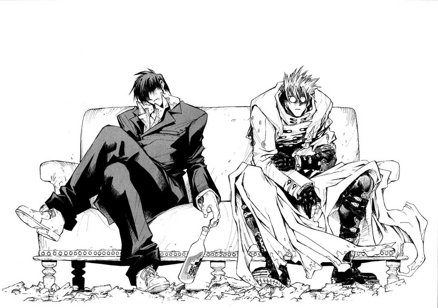 trigun manga ile ilgili görsel sonucu