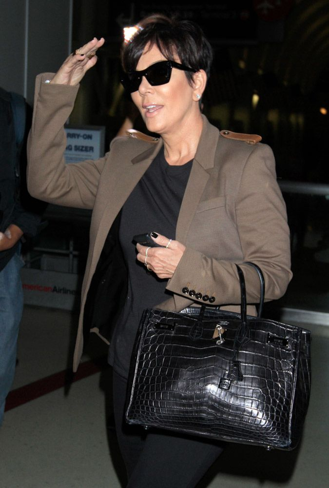 2db01c70c7 We Did the Math  Here s What Kris Jenner s Hermès Collection is Worth
