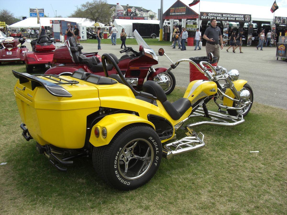 Soon it will be bike week at Daytona Beach and you'll see