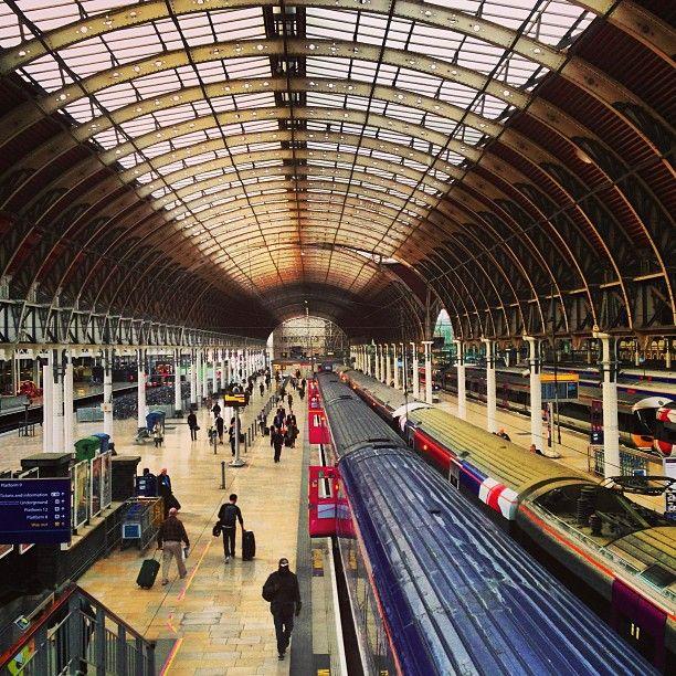 London Paddington Railway Station PAD in Paddington Greater