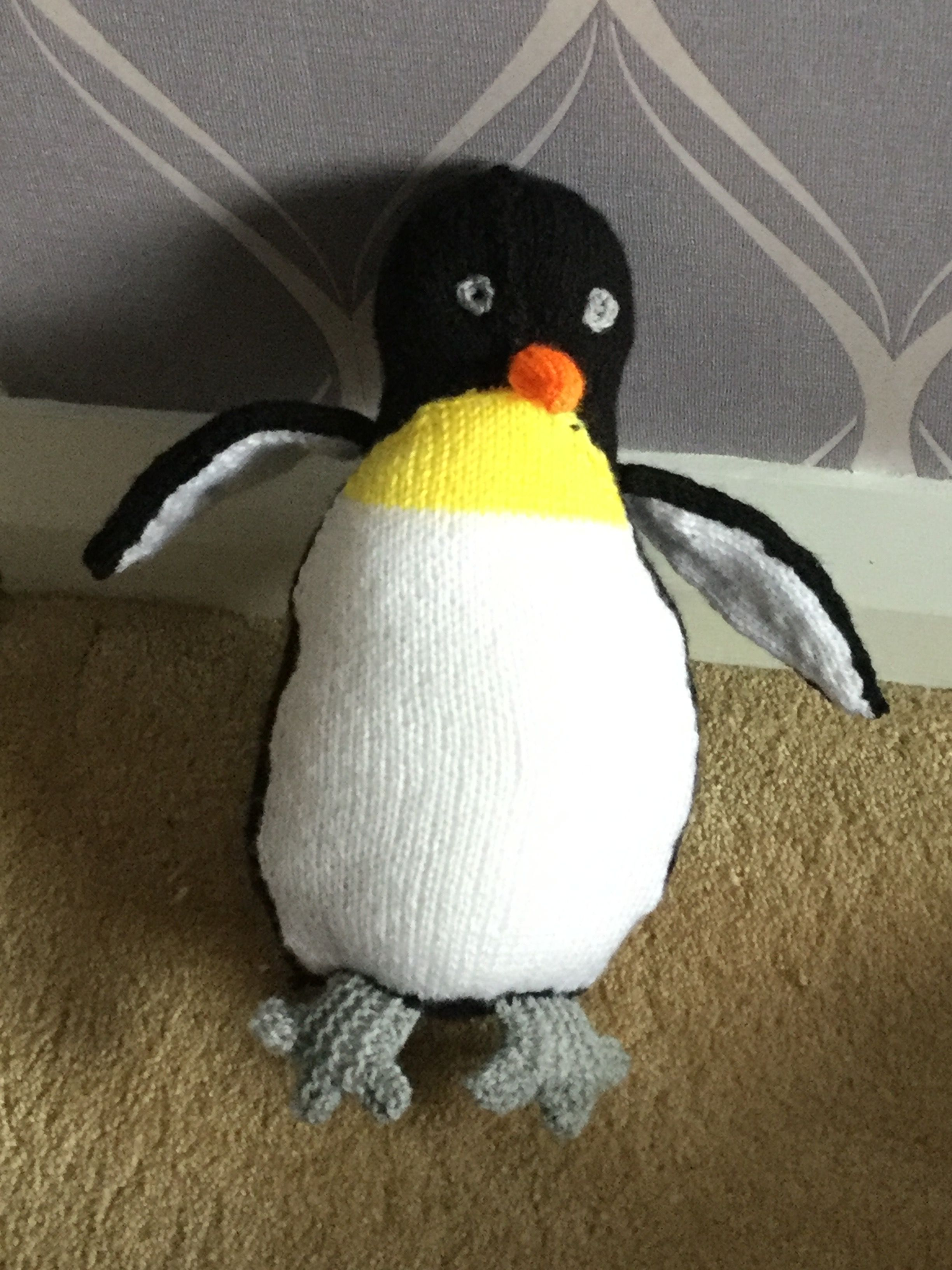 Penguin From Sarah Keen S Book Of Knitted Wild Animals Although I
