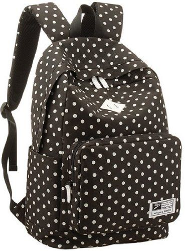ad04cb267488 Eshops Lightweight Casual Daypack Backpack for College Bookbag for Women  Girls School Bags (Black)