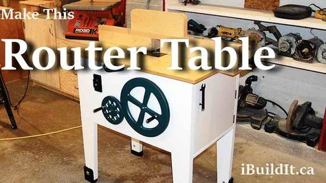 Build a router table with integrated lift mechanism houteerk build a router table with integrated lift mechanism keyboard keysfo Gallery