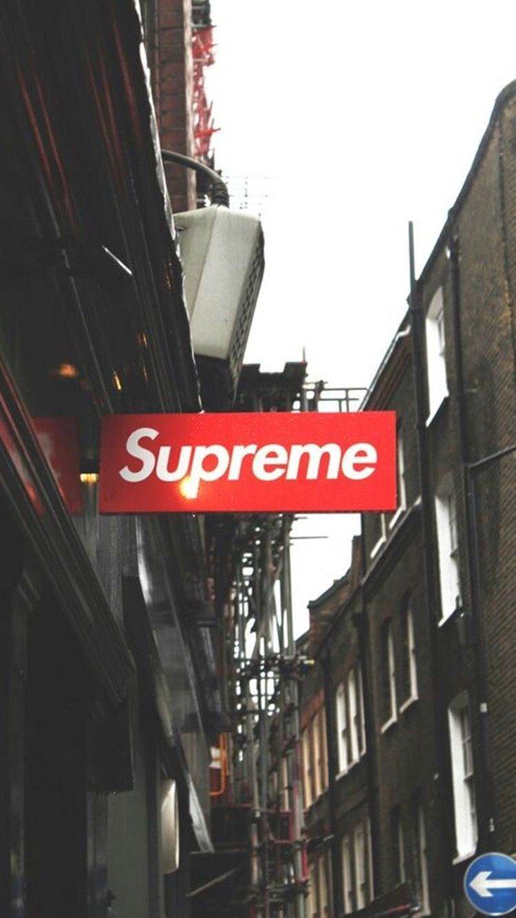 Supreme wallpaper from the app 'Aesthetic in 2020