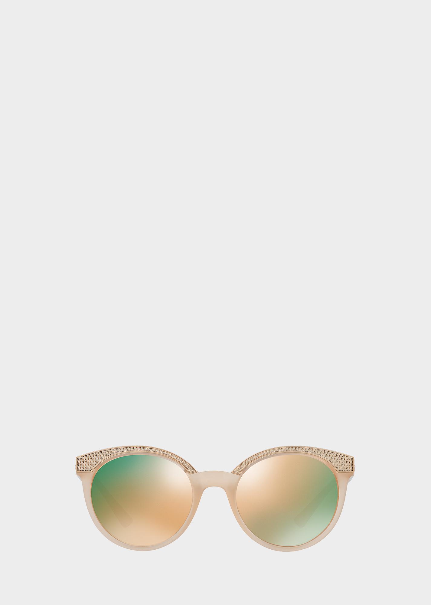 Versace Opal Blush VMesh Slim Sunglasses Opal blush