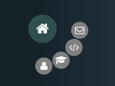 Animated Radial Menu with jQuery and CSS3 Transitions Menu items - copy blueprint start animation