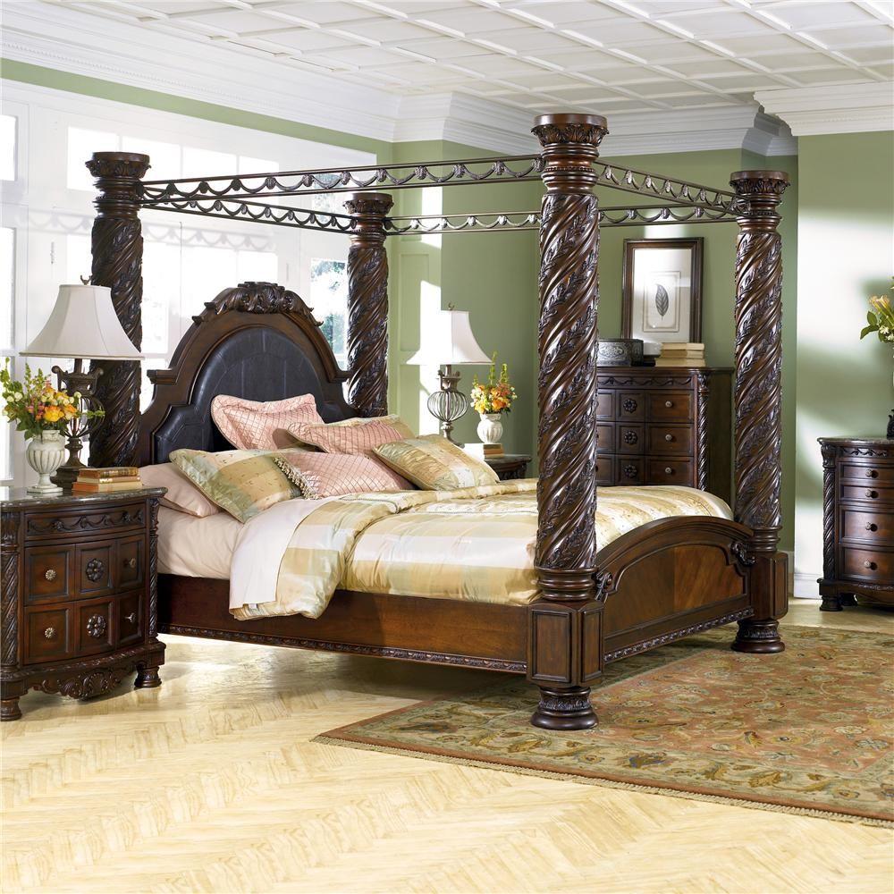 Delightful Millennium North Shore King Canopy Bed   Ace Furniture U0026 Decor, Sofa  Mattress Warehouse