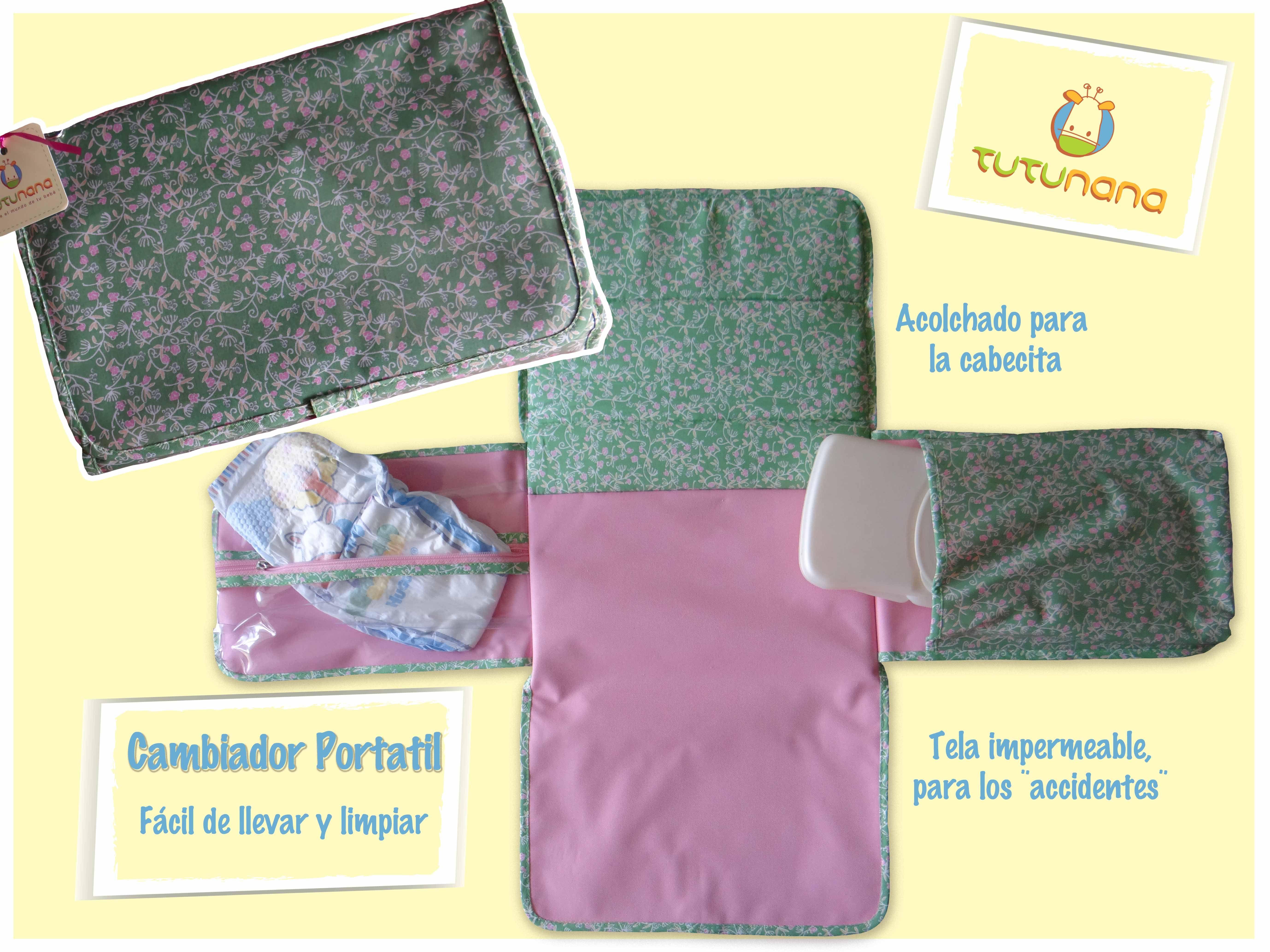 Lo que toda mama debe tener en su cartera, Cambiador Portátil para Bebe,  www.facebook.com/tutunanabebe